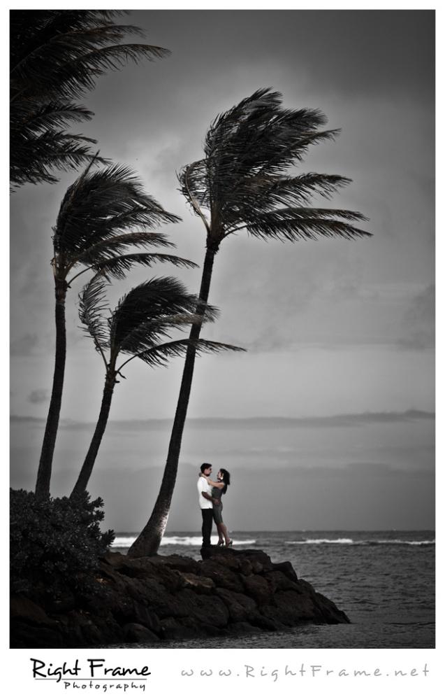 015_Oahu engagement photography kahala mandarin