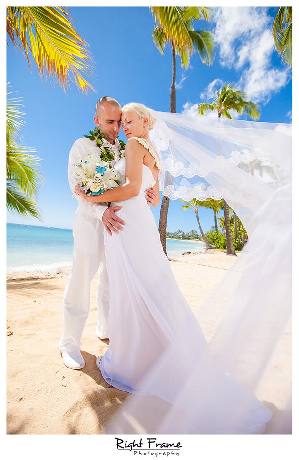 005_slub na hawajach slub za granica oahu kahala beach wedding