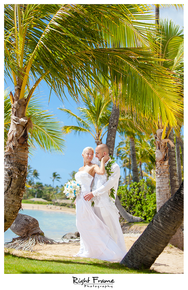 007_slub na hawajach slub za granica oahu kahala beach wedding