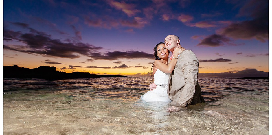 Beach Wedding Ceremony Oahu: Oahu Wedding And Family Photographer