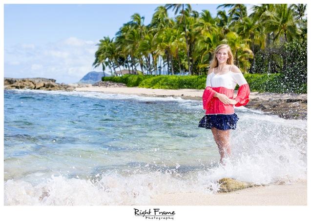 001_senior portraits hawaii oahu