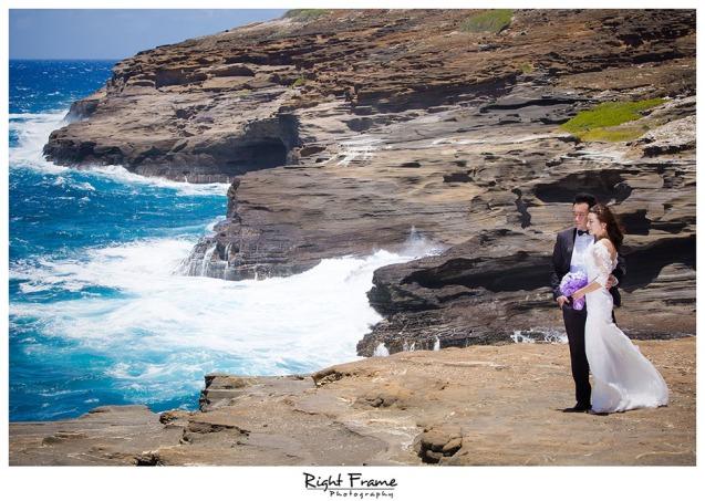 wedding photographers in Oahu Hawaii