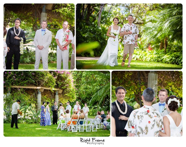 008_Wedding at Hale Koa Hotel Maile Tower Gazebo