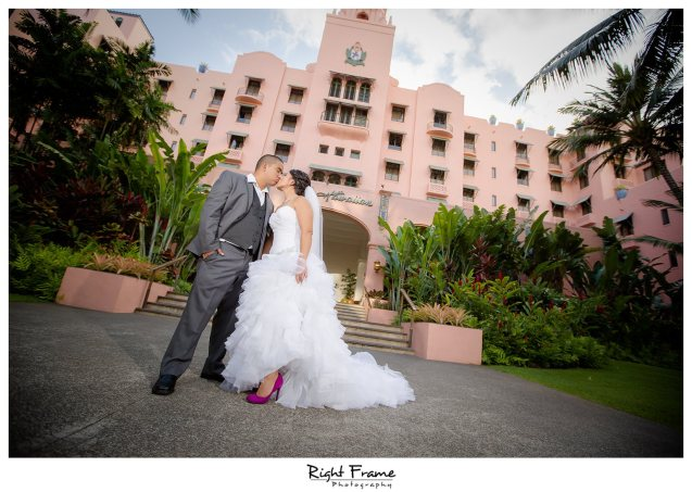 004_The Royal Hawaiian Hotel Wedding Helumoa Garden