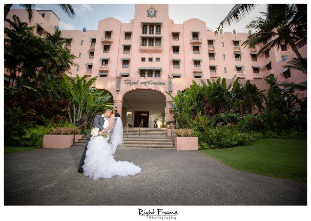 005_The Royal Hawaiian Hotel Wedding Helumoa Garden