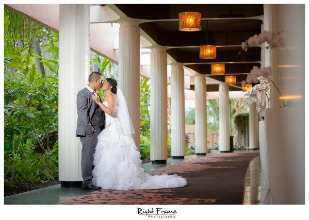 007_The Royal Hawaiian Hotel Wedding Helumoa Garden