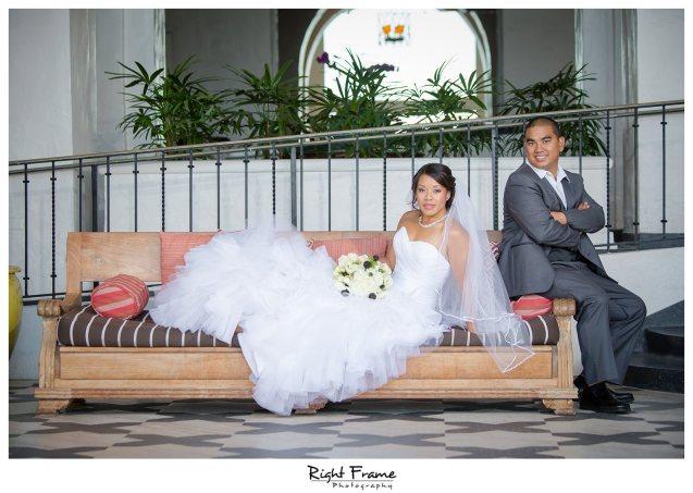 010_The Royal Hawaiian Hotel Wedding Helumoa Garden