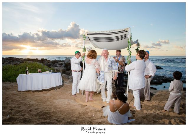 Oahu Jewish Wedding Anniversary at KoOlina