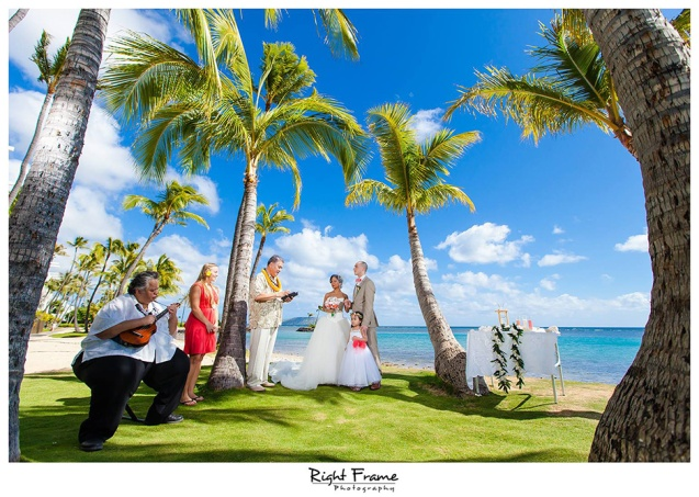 001 Hawaii Weddings - Kahala Beach Park