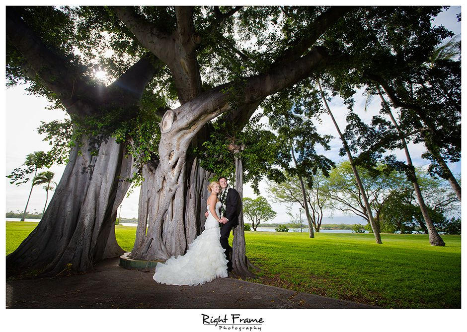 Hickam AFB Wedding at Officer's Club | Wedding, Engagement ...
