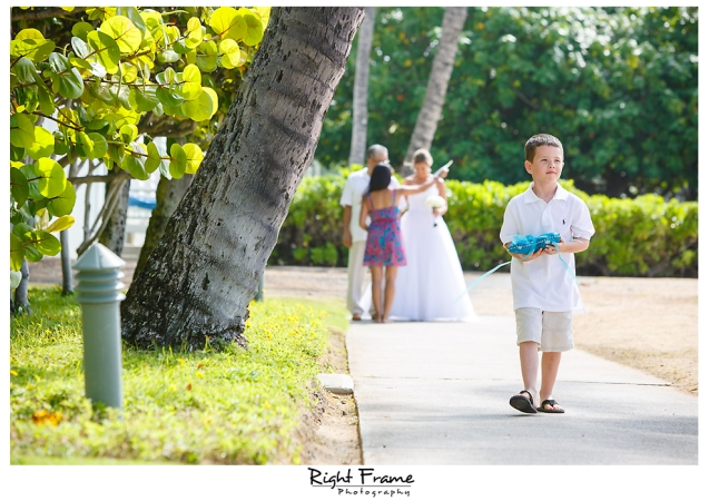 120_Hawaii Wedding Photographer Kahala Beach