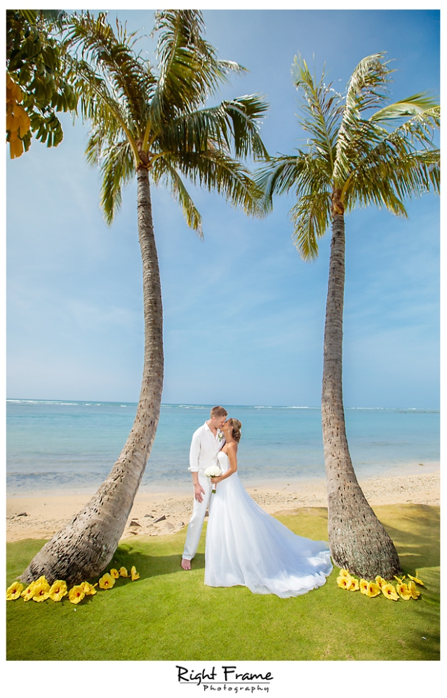 130_Hawaii Wedding Photographer Kahala Beach