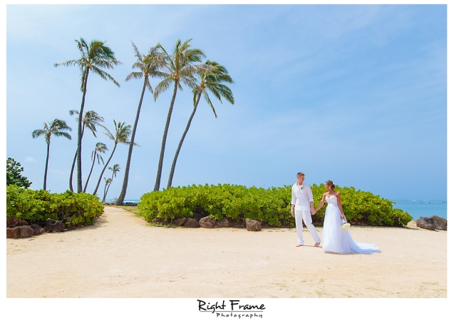 137_Hawaii Wedding Photographer Kahala Beach