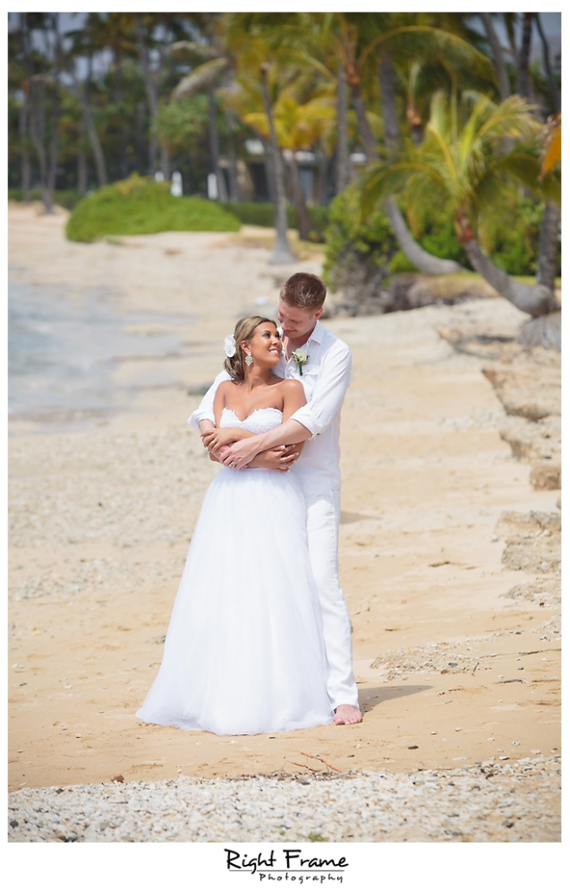 139_Hawaii Wedding Photographer Kahala Beach