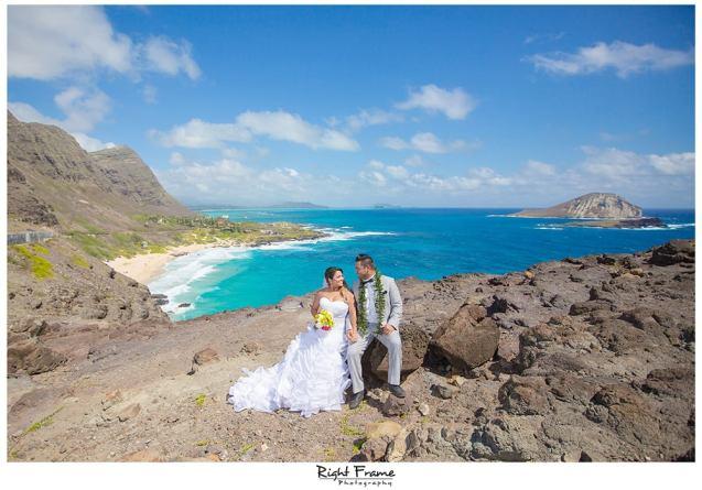 Makapuu Beach Wedding Oahu