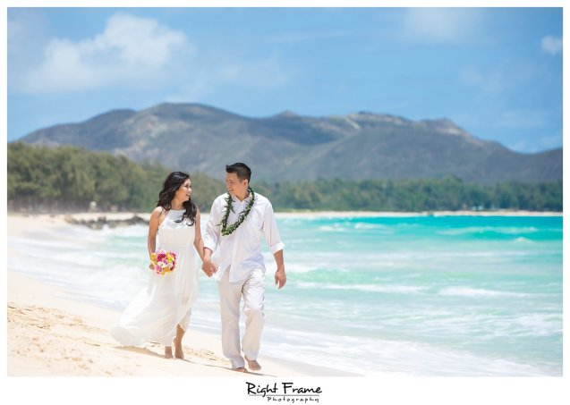Oahu Wedding Vow Renewal Ceremony