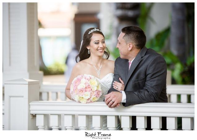 Wedding at the Ocean Crystal Chapel Hilton Hawaiian Village