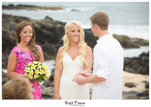 Hawaii Destination Wedding Makapuu Beach