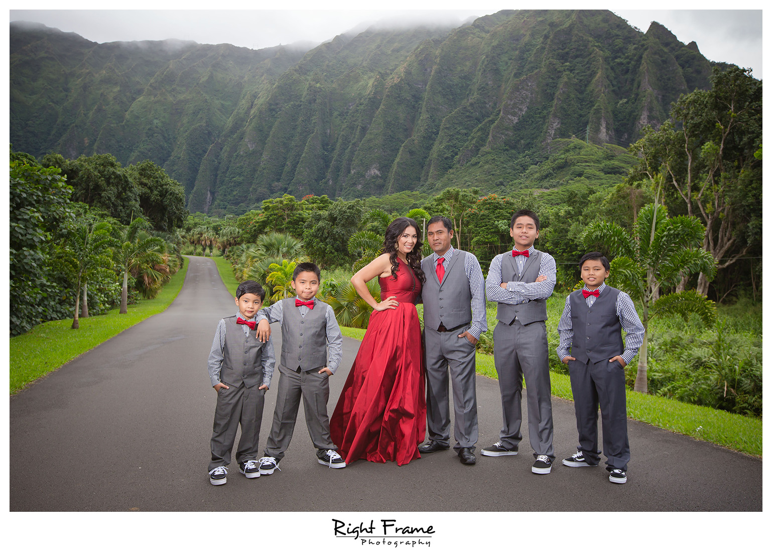 Honolulu Family Photographer Ho Omaluhia Botanical Garden