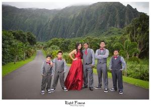 Honolulu Family Photographer Hoomaluhia Botanical Garden