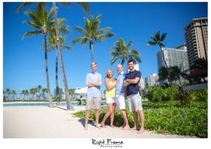 Waikiki Beach Family Photography