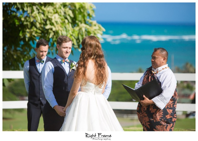Oahu Hawaii Kualoa Ranch Wedding Paliku Gardens