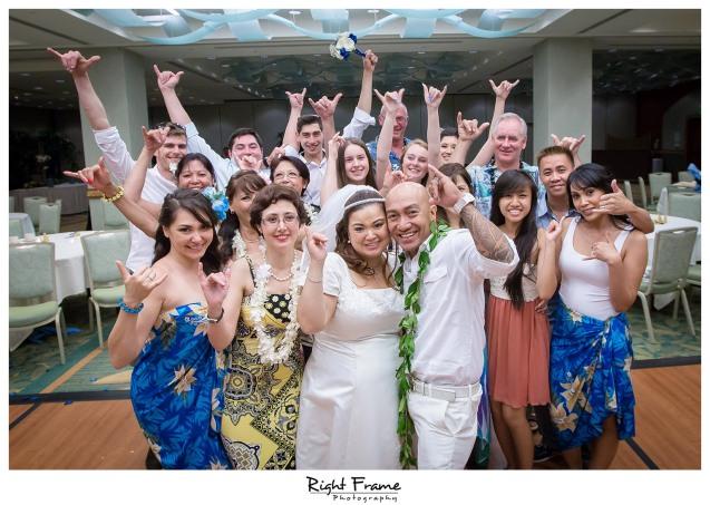 Hilton Waikiki Beach Hotel Wedding