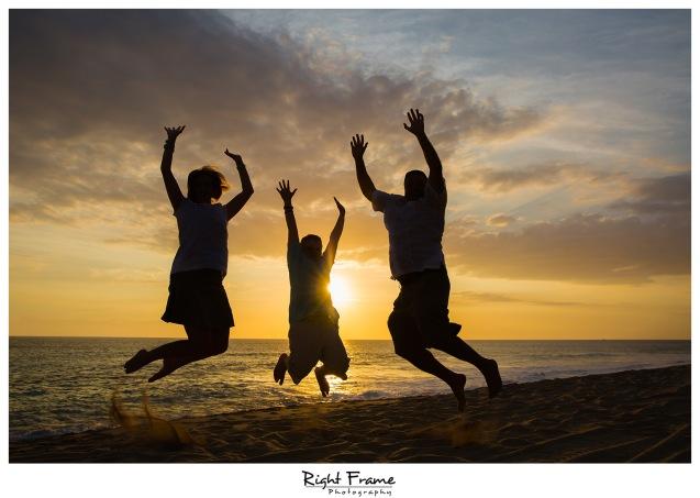 Oahu Family Sunset Beach Photography