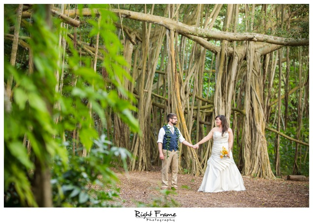 Kawela Bay Wedding Oahu Hawaii North Shore