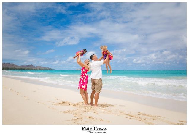 Hawaii Family Beach Photographer Waimanalo Beach