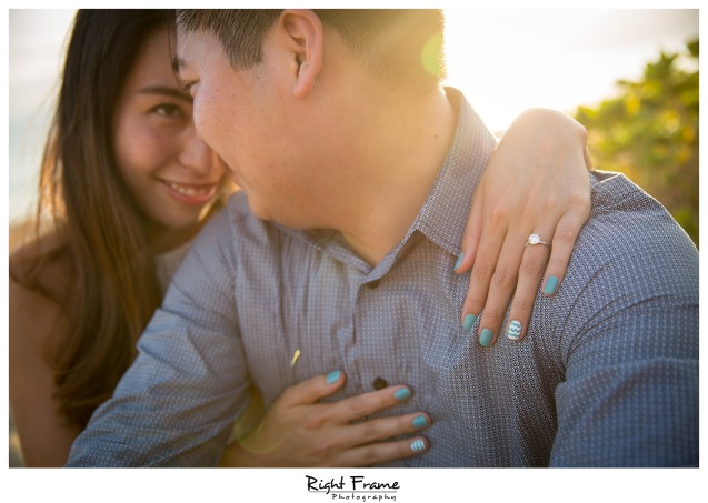 Romantic Surprise Engagement Proposal in Hawaii