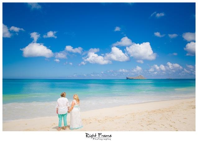 Oahu Beach Wedding at Hale Pohaku Waimanalo