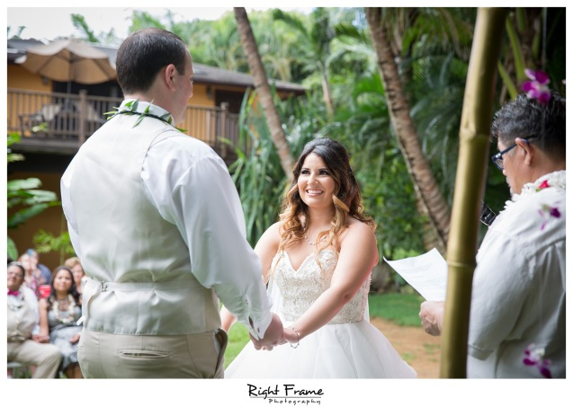 Place to Get Married Hale Koa Estate Oahu Hawaii