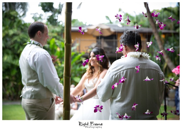 Place to Get Married Hale Koa Estate Oahu Hawaii