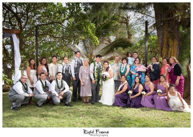 Beach House Wedding at Nani Kai Hale Hauula Oahu Hawaii
