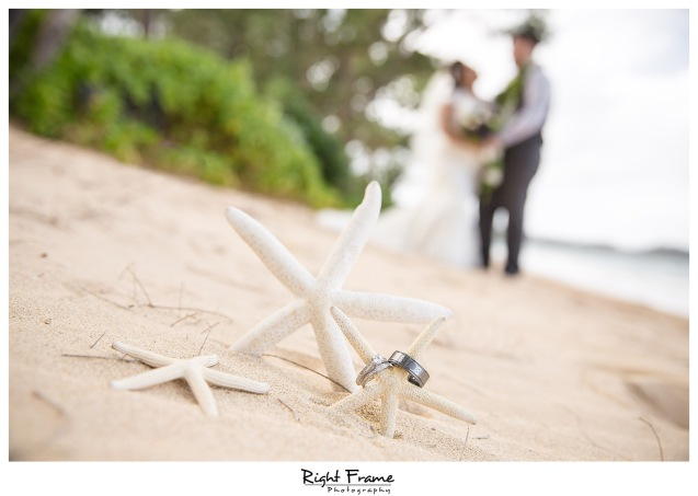 Beach House Wedding at Nani Kai Hale Hauula Oahu Hawaii
