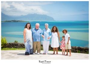 Family Portraits in Kailua Ocean View Estate