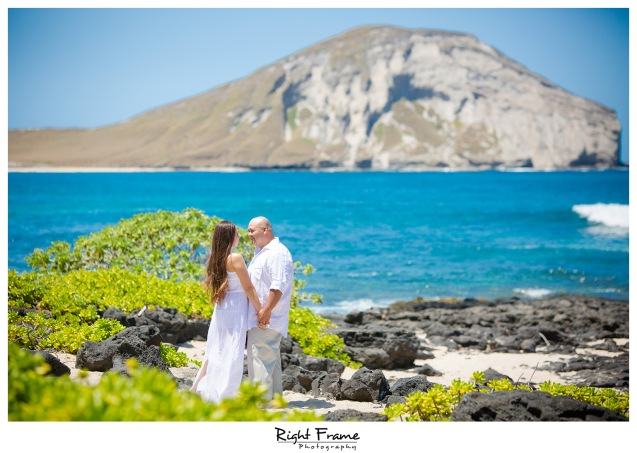 Oahu Engagement Photographer Makapuu Beach