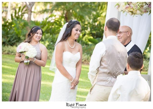 Wedding in Waikiki Hale Koa Hotel Maile Garden