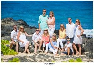 Family Portrait in Oahu Hawaii Makapuu Beach