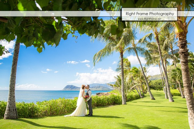 Hawaii Destination Wedding at Paradise Cove Oahu