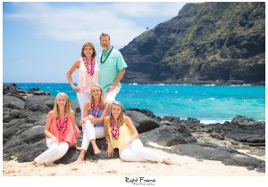 Family Photos in Hawaii - Makapu'u Beach Park