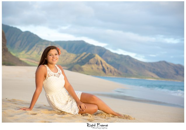 Senior Portraits in Oahu, Hawaii