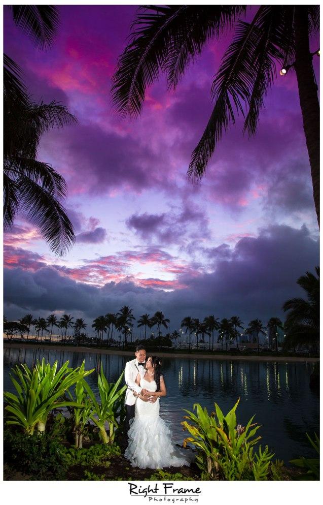 Wedding in Hilton Hawaiian Village - Waikiki