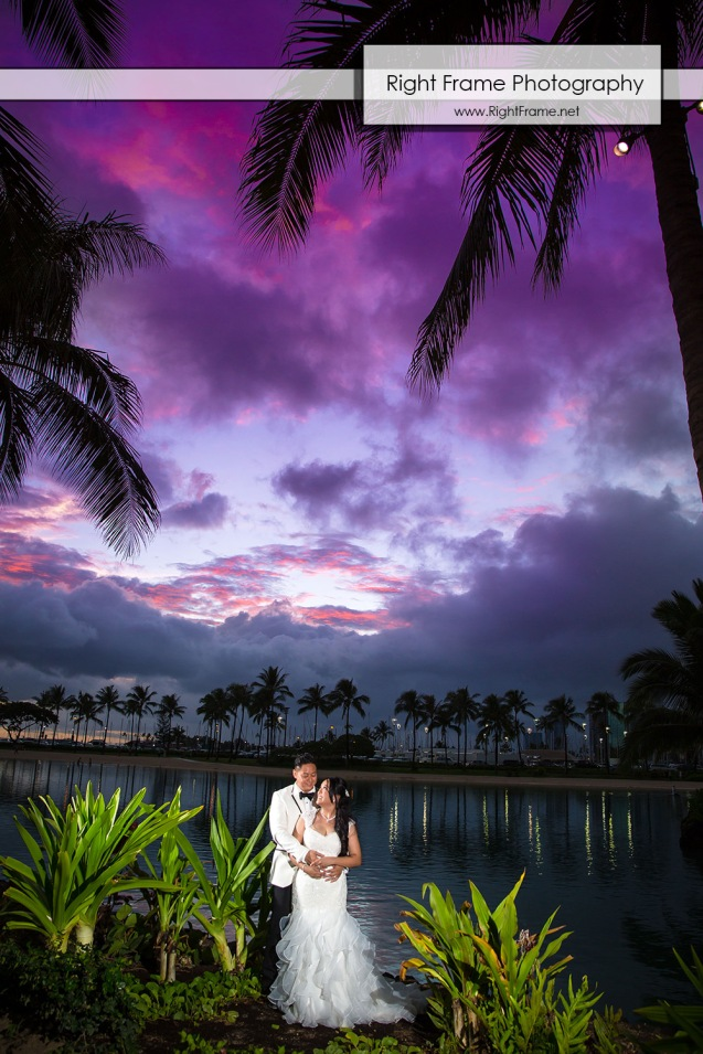 Hilton Hawaiian Village Wedding in Waikiki