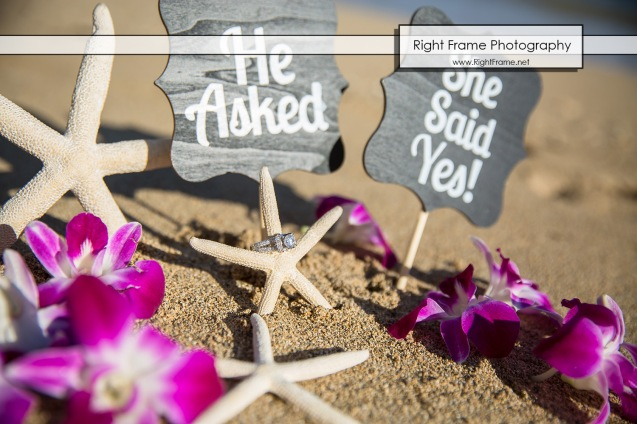 Surprise Marriage Proposal at Kahala Beach