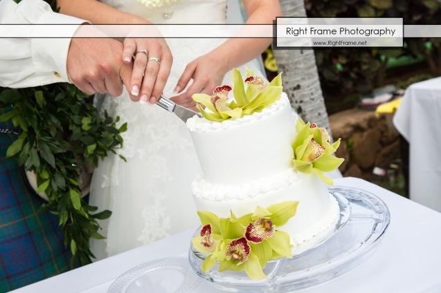 Ko'Olina Paradise Cove Wedding Imu Gardens