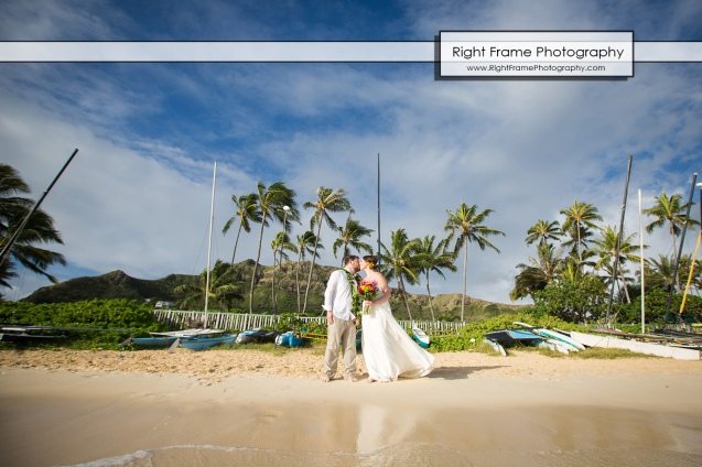 Lanikai Sunrise Beach Wedding Oahu Hawaii