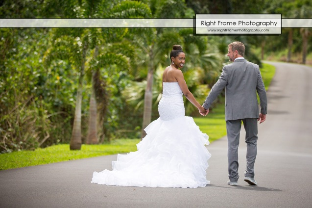 Hawaii Botanical Garden Wedding