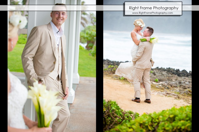 Turtle Bay Hotel Hawaii Beach Wedding